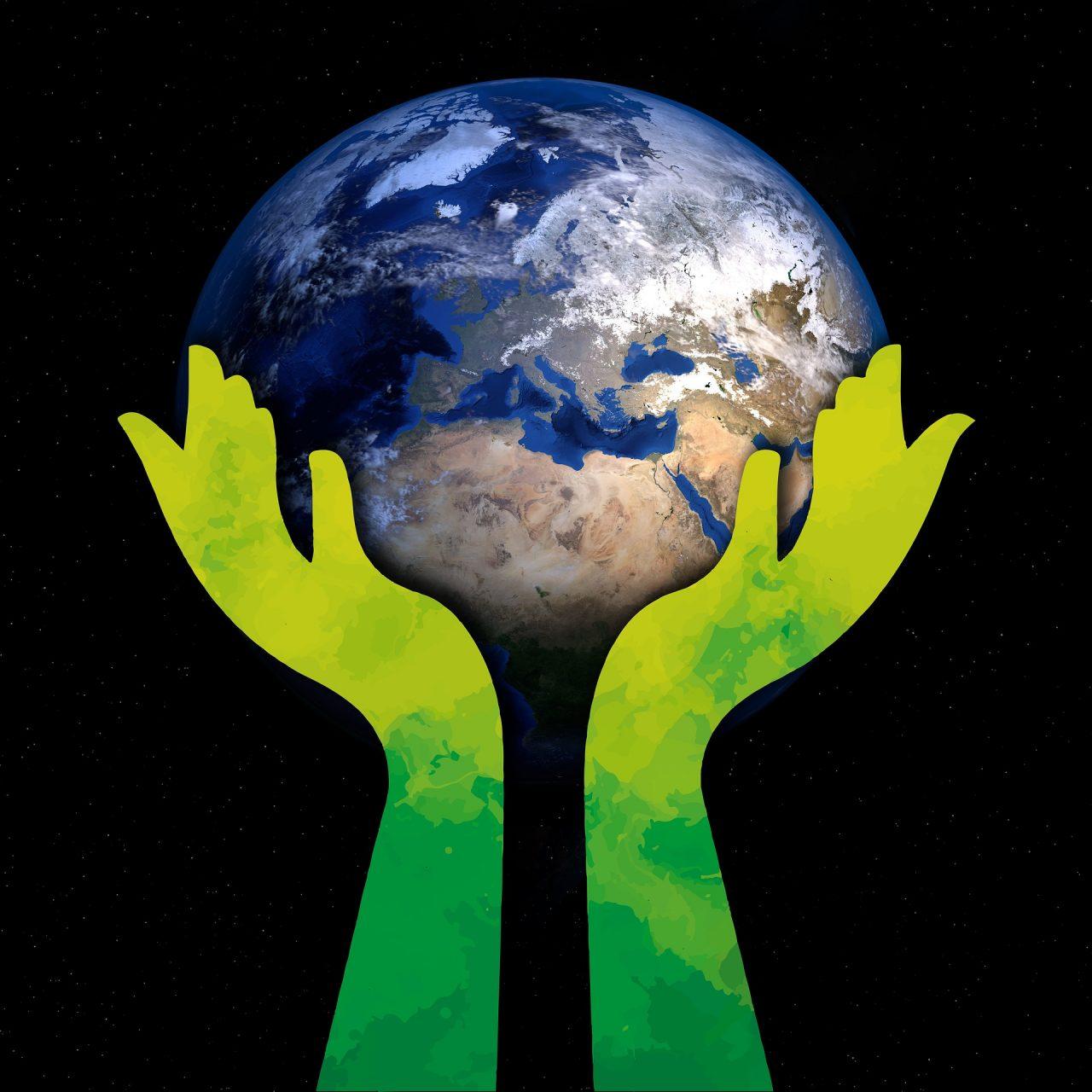 De aarde in Gods handen